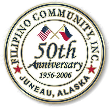 Filipino Community Inc. 50th Seal